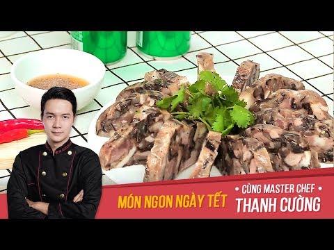 Cách làm món Giò Xào|Món ngon ngày Tết|Chef Thanh Cường