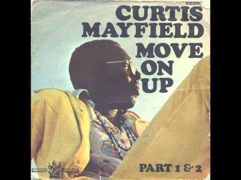 Curtis Mayfield - Move On Up (Part 2) (Instrumental) (Buddah FRA)