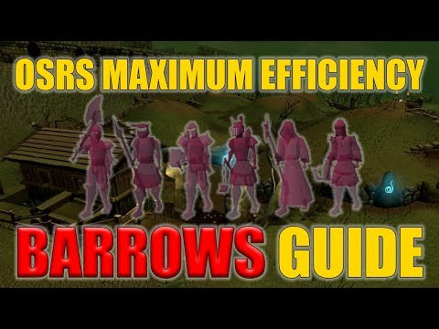 Maximum Efficiency OSRS Barrows Guide (Easy OSRS Boss Series