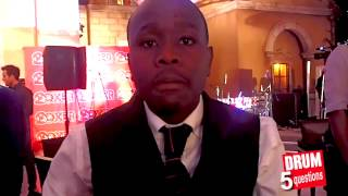 5 questions for Khaya Mthethwa