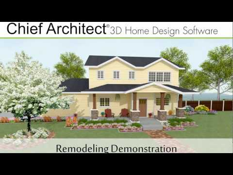 Chief Architect X9 Remodeling Demonstration