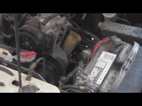 How to Change a Power Steering Pump - 94 Ford Ranger 4.0 V6