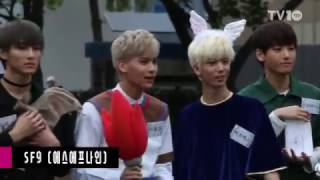[TV10] SF9(에스에프나인)-몬스타엑스(MONSTA X)-달샤벳(Dalshabet), '아침을 …