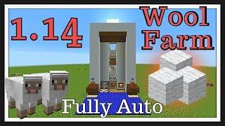 Minecraft Tutorial : Sheep Farm Fully Automatic
