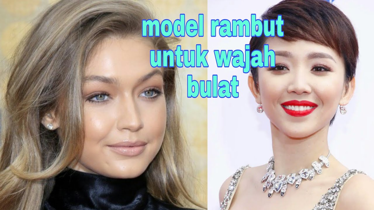 model rambut untuk wajah bulat 2020 - YouTube