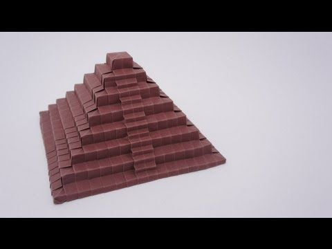 Preview - Origami Ancient Pyramid (Time-lapse)