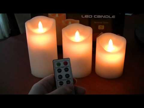 Comenzar LED candle lights