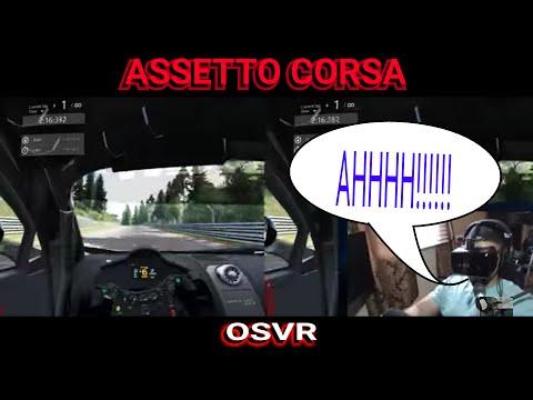 ASSETTO CORSA VR SETUP AND DRIVE