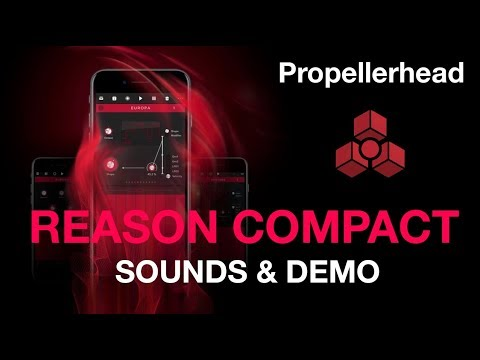 Propellerhead Reason Compact for iPhone - Demo and sounds