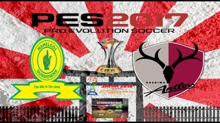 ps4 pes 2017 gameplay mamelodi sundowns vs kashima antlers hd