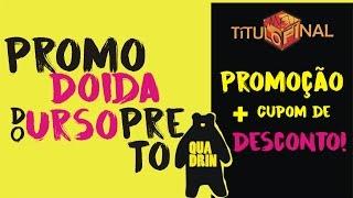 Promoção + cupom de desconto! QUADRIN!