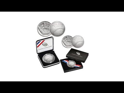 2014 Baseball HOF Unc. Silver Dollar   Clad Half Dollar