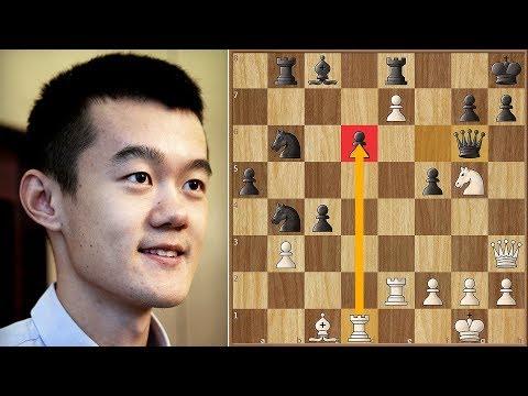 Chinese Superstar | Ding Liren vs Duda | Batumi Chess Olympiad (2018)