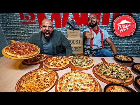تحدي منيو كامل بيتزا هت جدة Menu Challenge Pizza Hut Jeddah Youtube