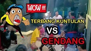 Seni TERBANG KUNTULAN vs GENDANG Banyuwangi