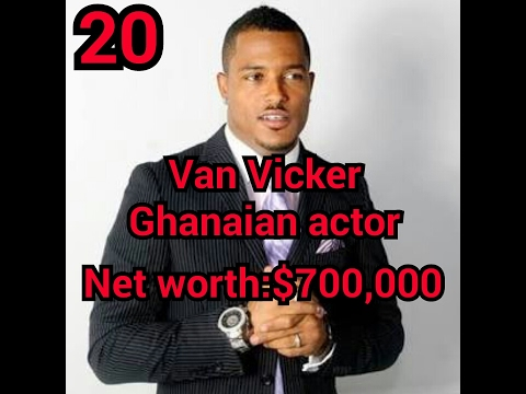 Top 20 richest nollywood artist in africa with their net worth(latest)