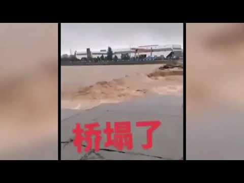 中国河南郑州爆发洪灾创多项历史纪录,多人死亡与失踪