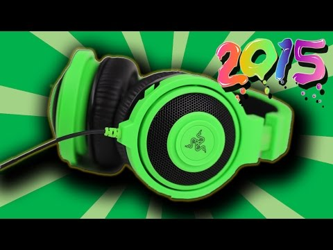 Razer Kraken Pro Analog Gaming Headset Unboxing #2015
