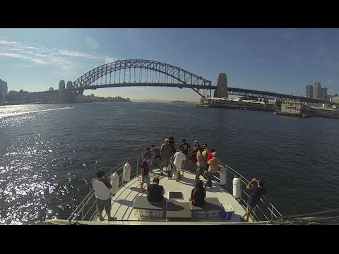 Sydney Harbour Work Xmas Party ....