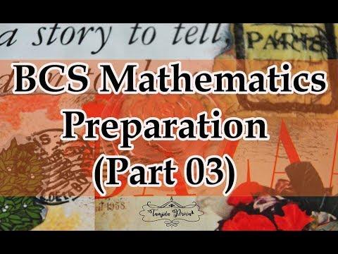 BCS Mathematics Preparation|| BCS Preliminary Mathematics||BCS Exam Preparation||Math Solution 😎💕 thumbnail
