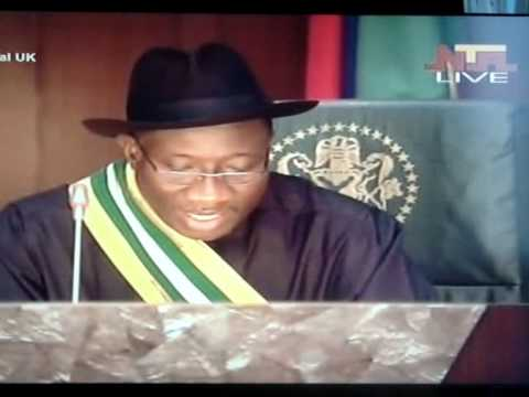The Inaugural Speech of President Ebele Goodluck Jonathan.wmv