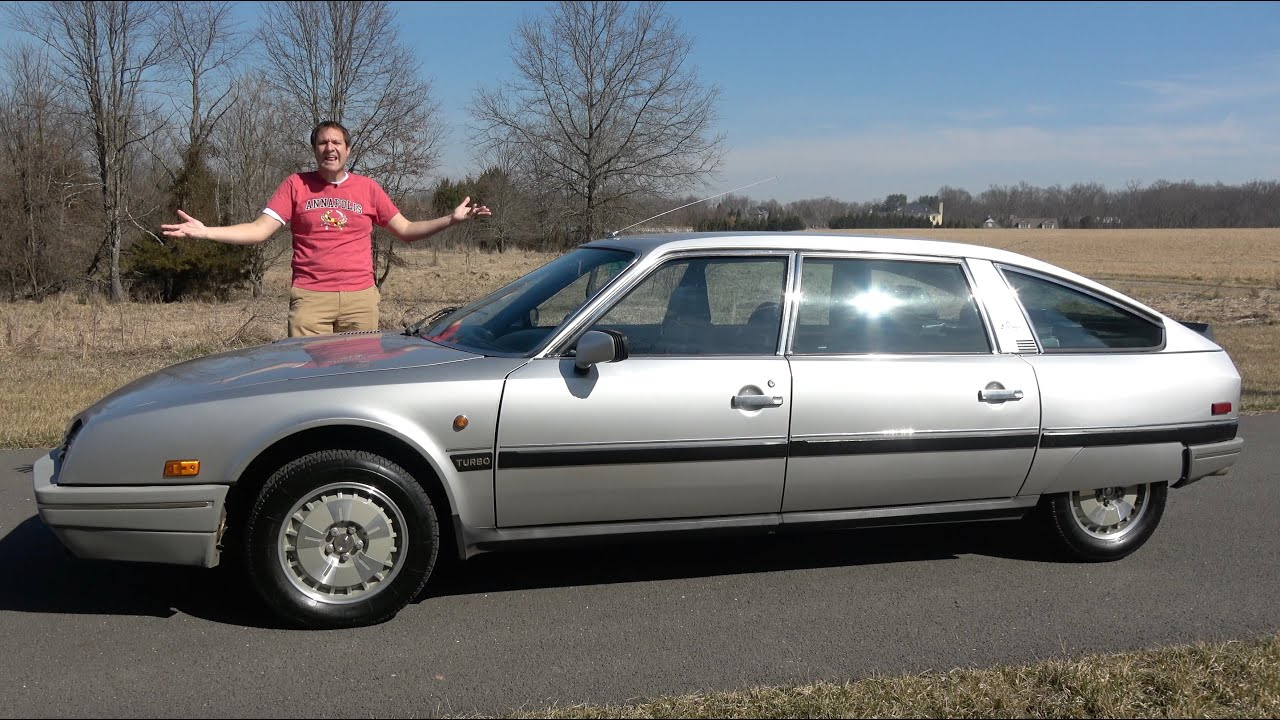 Download The Citroen CX Is an Amazingly Quirky and Weird French Luxury Car