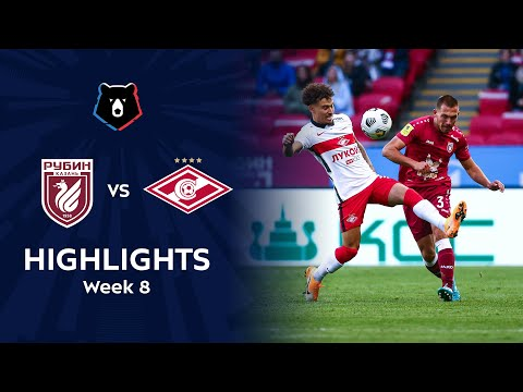 Rubin Kazan Spartak Moscow Goals And Highlights