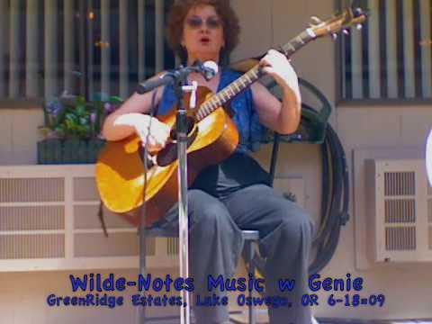 San Antonio Rose  (lyrics) - Genie at GreenRidge