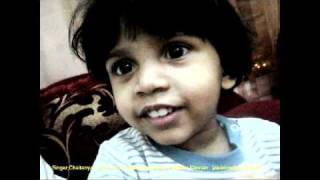 Thamara Kannan :Song Malayalam by Chaitanya Jaikishan ( 2yrs old)