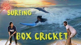 Weekend Getaway | Surfing | Box Cricket with MaKaPa
