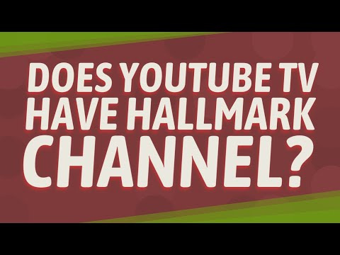 Does YouTube TV Have Hallmark Channel?