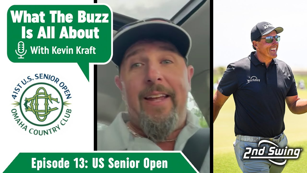 What The Buzz Is All About Episode 13   Qualifying For The US Senior Open