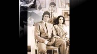 Actor Amitabh Bachan with his friends and family rare and unseen