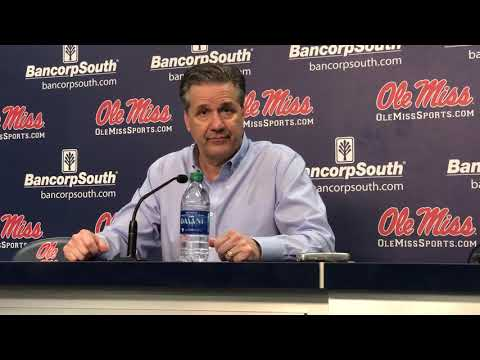 John Calipari post-Ole Miss