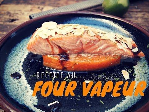 saumon-laqué-au-soja-et-potiron-confit-/-test-four-vapeur