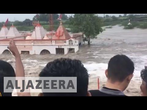 India floods: Monsoon rains kill at least 16