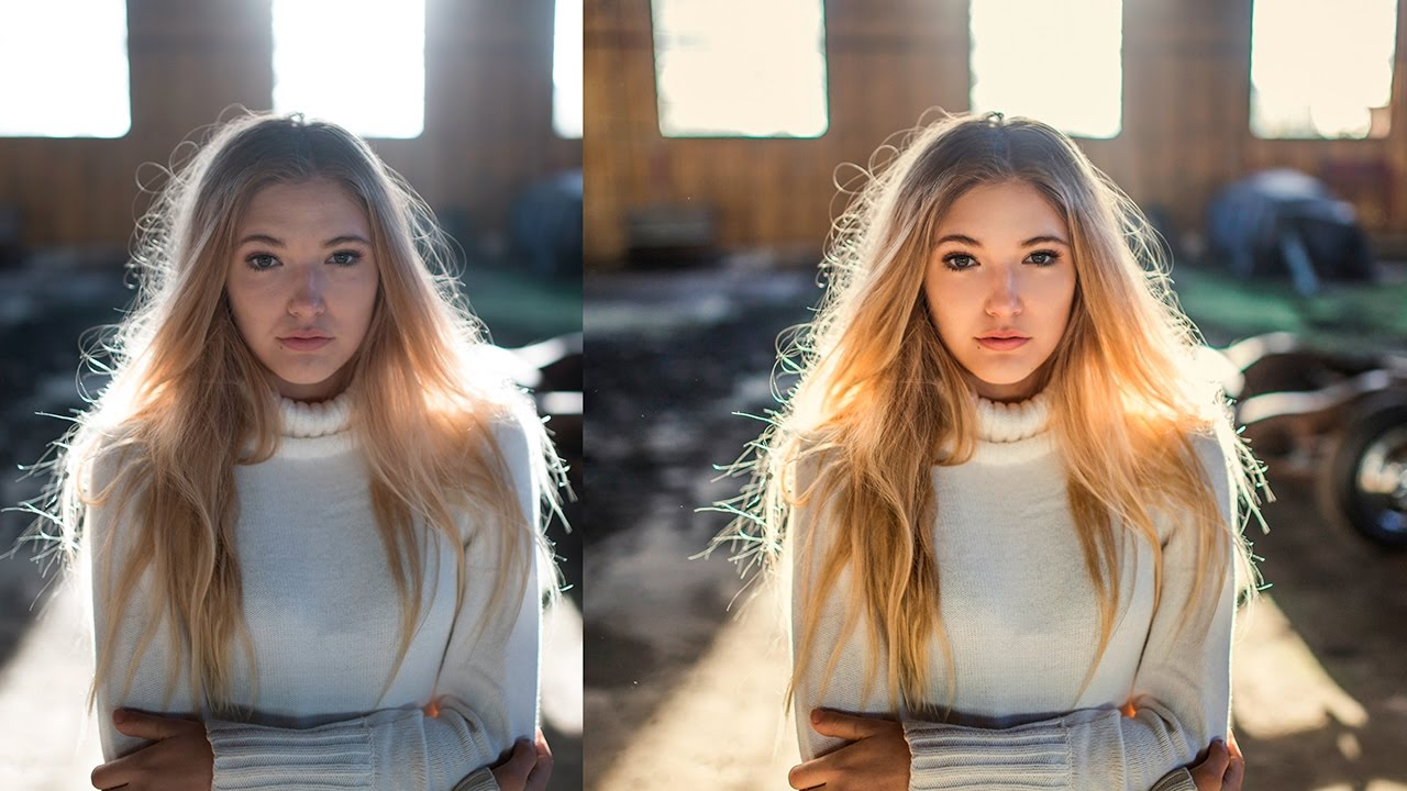 Photoshop Tutorial, How to Bring Back Details, Add Warm Tones