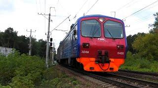 ЭД4М-0400 \РЭКС\ сообщением Москва Ярославский вокзал - Монино