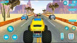 "Monster Truck Racing Games Transform Robot Car Games ""Desert"" Android Gameplay Video #2"