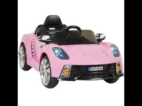 Best Choice Products Pink Mp3 Kids Ride on Car  Remote Control Toy