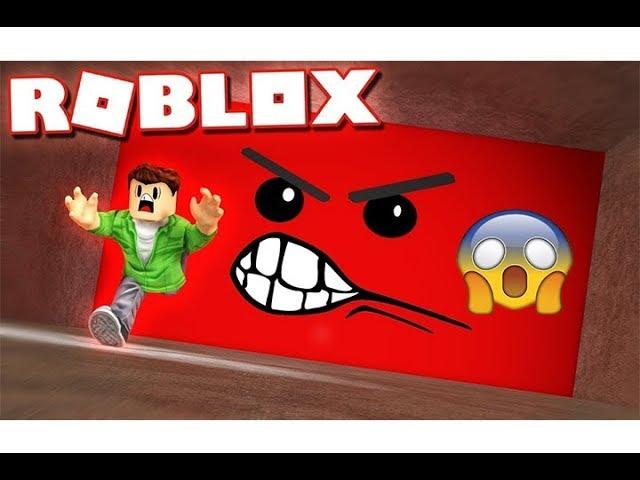 الهروب من الحائط القاتل فى لعبة roblox !!
