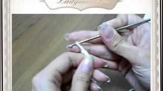 Вязание крючком- воздушные петли.mpg
