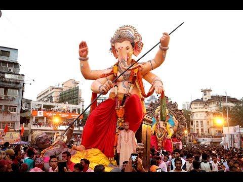 Ganesha Visarjan 2018 Mumbai.
