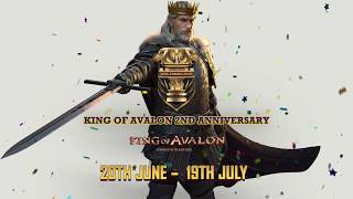 King of Avalon: 2nd Anniversary trailer