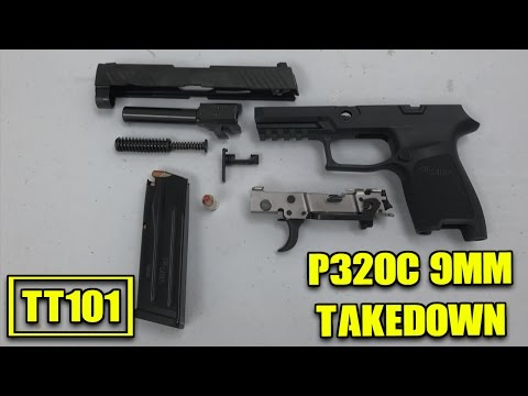 sig-sauer-p320c-disassembly