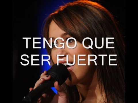 Miley Cyrus- The climb (letra en español)