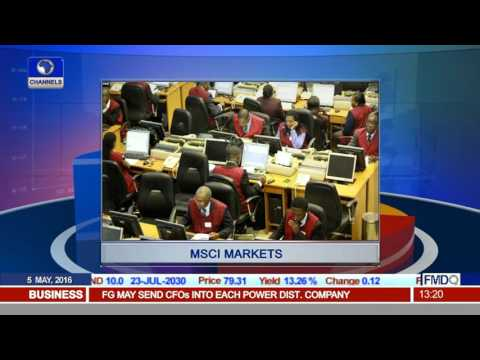 MSCI Markets: Trader Justifies Nigeria's Non Removal