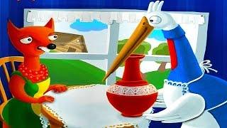 Сказка Лиса и Журавль - Интерактивные сказки для детей. Сказки на ночь