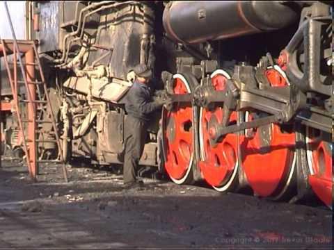 Chinese Steam: Dongsheng Depot 21st Jan 2001