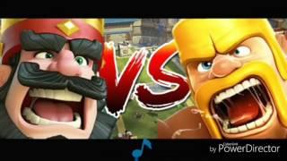 Melhor Rap De Clash Royale VS Clash Of Clans